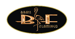 Brass Flamingo